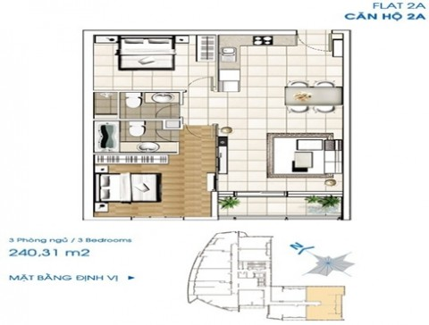 Sailing Tower Apartment In District 1 Ho Chi Minh City