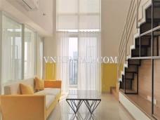 Duplex apartment for sale in Ho Chi Minh city, Vista Verde building, district 2