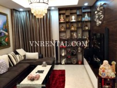 High quality apartment with 3-bedroom for rent in Dragon Hill Building, District 7, Ho Chi Minh city