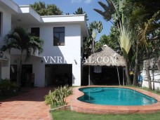 Semi-furnished villa for rent in Thao Dien, District 2, Ho Chi Minh City