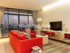 Beautiful spacious apartment for rent in City Garden, Binh Thanh District, HCMC