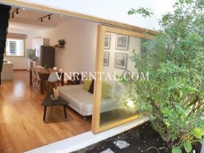 Beautiful wooden floor house for rent in Binh Thanh District, Ho Chi Minh City