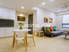 Masteri Thao Dien bright and beautiful apartment for rent in Dist 2, HCMC
