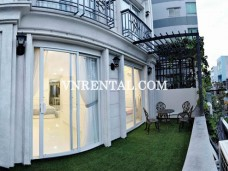 Beautiful balcony 2 bedroom apartment for rent near Saigon city center