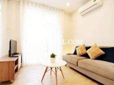 Brightly and cool serviced apartment for rent on Vo Thi Sau street, district 3, HCMC