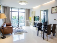 Spacious apartment for rent in City Garden, Binh Thanh district