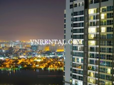 Nice pool view apartment for rent in Vinhomes Central Park, Binh Thanh Dist, HCMC