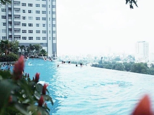 High Floor 2 Bedroom Apartment For Rent In Sunrise City Building District 7 Ho Chi Minh