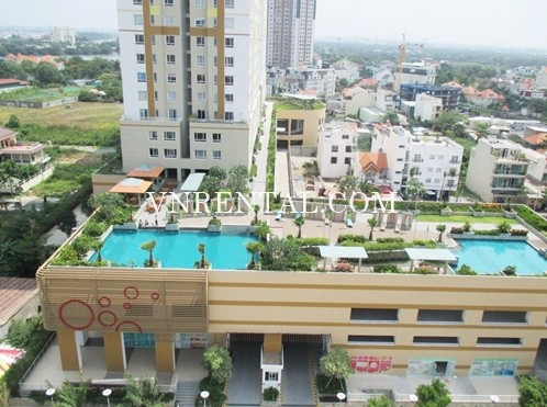 Bright And Nice Design Apartment For Rent In Tropic Garden